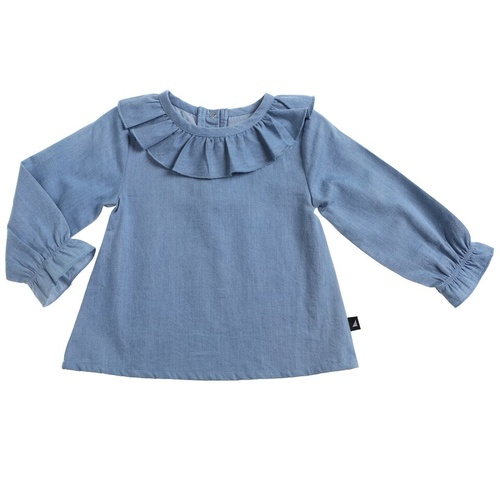 Anarkid Organic Distressed Chambray Smock