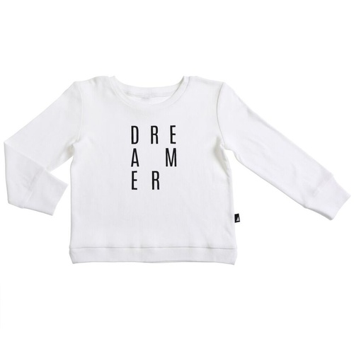 Anarkid Organic Dreamer Sweater Lily White