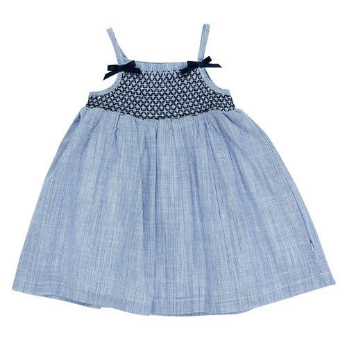 Bebe Zoe Shirred Dress With Bows