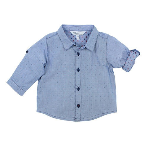 Bebe Theo Spot Long Sleeve Shirt
