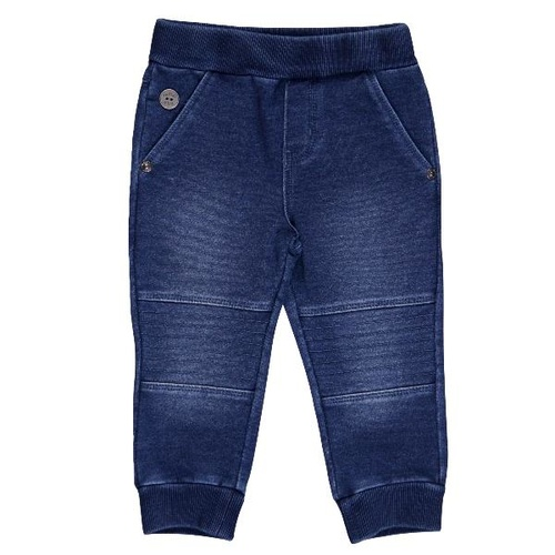 Boboli Fleece Denim Trousers