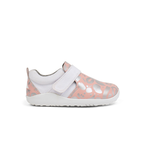 Bobux I-Walk Aktiv Abstract Shoe Pink+ Silver