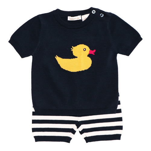 Beanstork Duck Set 100% Cotton Knit