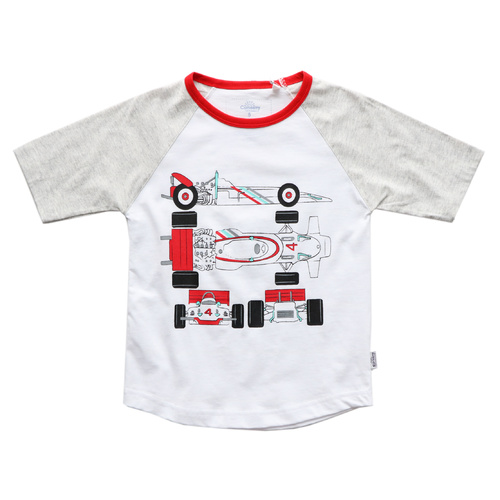 Curiosity Blueprint T-shirt With 4D Image Play