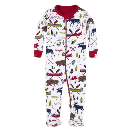 Hatley Sketch Country Footed Coveralls