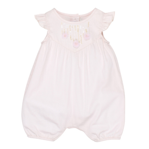 Fox & Finch Dazzle Romper In Pink