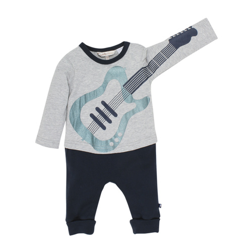 Fox & Finch Rock Guitar Romper