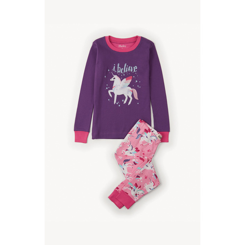 Hatley Winged Unicorns Applique Pyjama Set