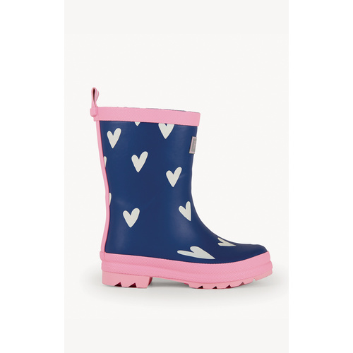 Hatley Sprinkled Hearts Gumboots