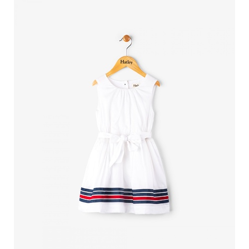 Hatley White Sateen Dress