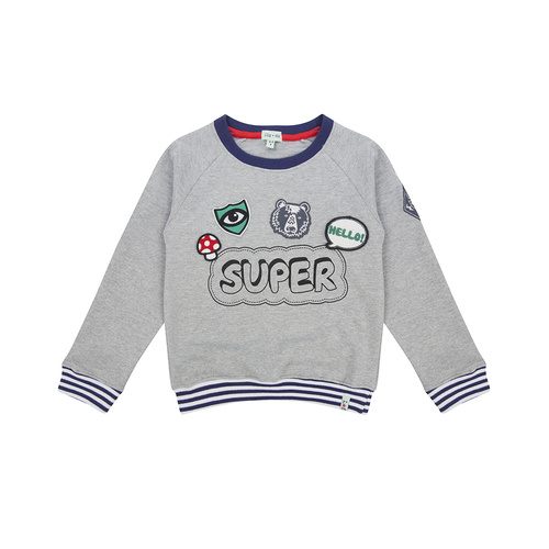 Lilly & Sid Retro Badged Sweatshirt