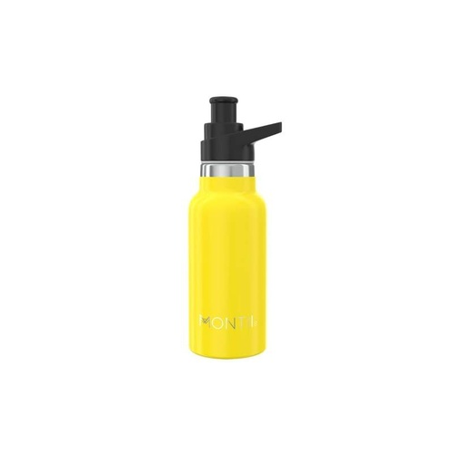 MontiiCo Insulated Mini Drink Bottle - Yellow