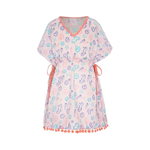 Platypus Australia Sundress With Pom Poms - Sherbet Shore