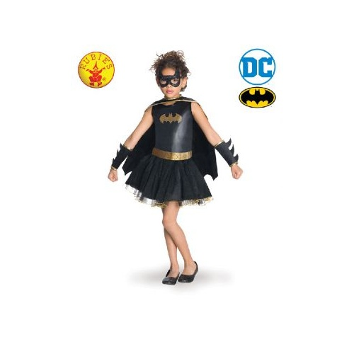 Batgirl Ruffle Tutu Dress  - Costume