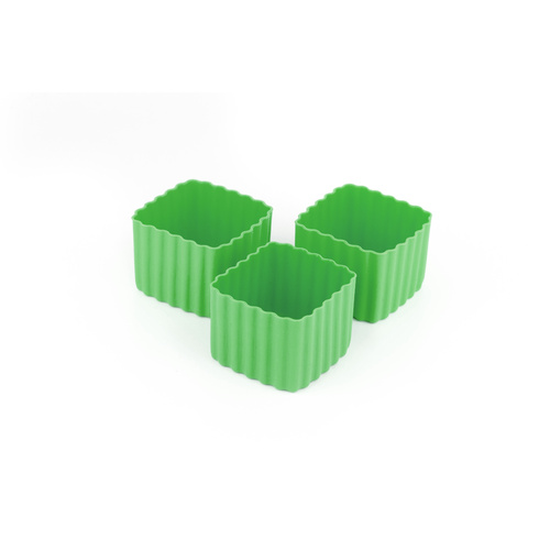 Bento Cups - Square Green
