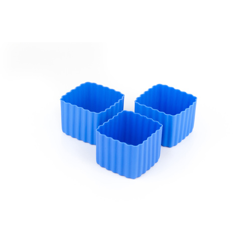 Bento Cups - Square Blue